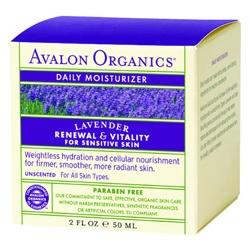 AVALON ORGANICS  乳霜-薰衣草滋潤日霜 Lavender Daily Moisturizer