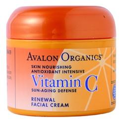 AVALON ORGANICS  乳霜-維他命C煥顏乳霜 Vitamin C Renewal Facial Cream