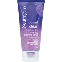 深層淨化亮白柔珠洗面乳 deep clean brightening mulberry foaming scrub