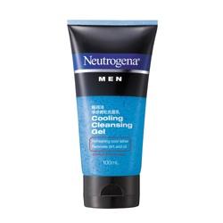 Neutrogena 露得清 男仕臉部保養-淨涼微粒洗面乳
