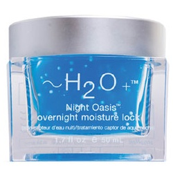 ~H2O+ 水貝爾 清潔面膜-8杯水星光水凝膜 Overnight Moisture Lock