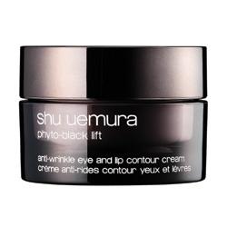 shu uemura 植村秀 黑萃緊顏系列-黑萃緊顏抗皺眼唇霜 Phyto-Black Lift Anti-Wrinkle Eye and Lip Contour Cream