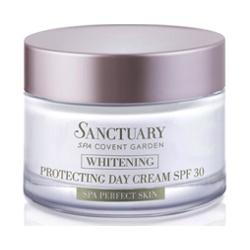 Sanctuary 聖活泉 防曬‧隔離-淨白光采美白防護日霜SPF30 Skin whitening day cream SPF 30