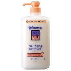 嬌生pH5.5 杏仁保濕沐浴乳