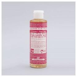 Dr. Bronner`s 布朗博士 洗顏-有機玫瑰潔顏露 Rose Liquid Soap