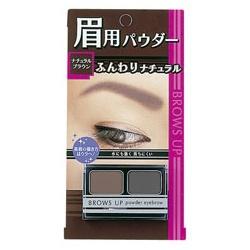 高質感雙色眉粉 BROWS UP POWDER EYEBROW NATURAL BROWN