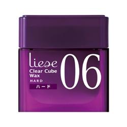 髮妝‧造型產品-06塑型持久髮蠟 Clear Cube Wax 06 Wax Hard