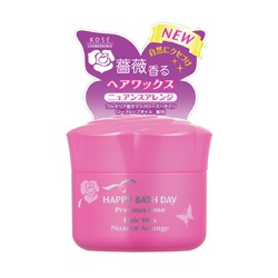 薔薇動感塑型髮腊 Happy Bath Day Precious Rose Hair Wax Nuance Arrange