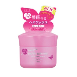 HAPPY BATHDAY precious rose 快樂沐浴天 髮妝‧造型-薔薇自然亮澤髮腊 Happy Bath Day Precious Rose Hair Wax Shiny