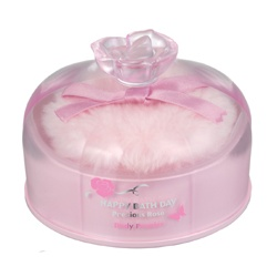 HAPPY BATHDAY precious rose 快樂沐浴天 女性香氛-薔薇花蜜香體粉 Happy Bath Day Precious Rose Body Powder