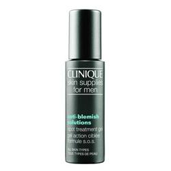 CLINIQUE 倩碧 男仕臉部保養-男仕無油光淨痘重點修護膠 Anti-Blemish solutions spot treatment gel