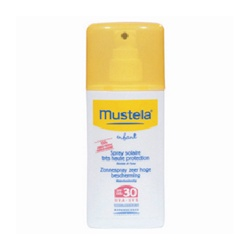 Mustela 慕之恬廊 嬰兒/兒童防曬系列-高效性兒童防曬噴抹劑SPF30 Very high protection sun spray SPF30