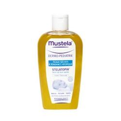 Mustela 慕之恬廊 寶寶身體保養-舒恬良乳化沐浴油 Stelatopia Milky Bath Oil
