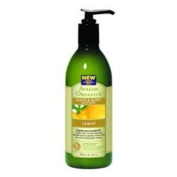 AVALON ORGANICS  經典綠瓶系列-檸檬護手潤膚乳液 Organic Hand & Body Lotion