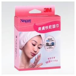 3M  小道具-爽膚快乾頭巾