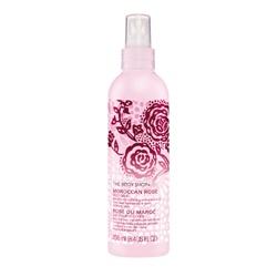 The Body Shop 美體小舖 摩洛哥玫瑰系列-摩洛哥玫瑰身體(噴式)潤膚乳 MOROCCAN ROSE MILK LOTION