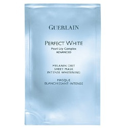 完美肌綻白瞬間淨白面膜 PERFECT WHITE advanced, Melanin Diet Sheet Mask
