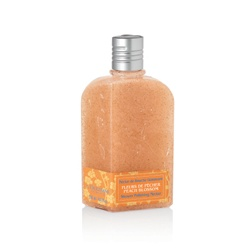 L'OCCITANE 歐舒丹 桃花香氛限定系列-桃花去角質沐浴膠 Shower Polishing Nectar