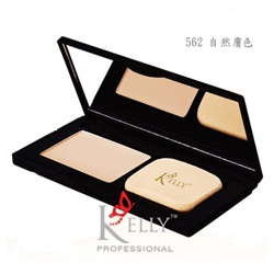 Kelly Professional Kelly專業彩妝 底妝系列-完美晶透粉餅 Perfect Touch Pressed Powder