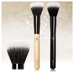 Kelly Professional Kelly專業彩妝 臉部刷具系列-時尚專業鬆粉刷 Duo Fiber Brush
