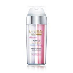 完美淨白粉透嫩白極亮雙效精華 White White Perfect Transparent Rosy Whitening Radiance Boosting Double Essence