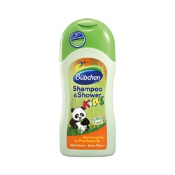 Baan 貝恩 Bübchen童趣系列-青竹貓熊洗髮沐浴乳  Shampoo & Shower Bamboo Panda