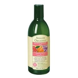 AVALON ORGANICS  沐浴清潔-有機葡萄柚沐浴凝膠 Grapefruit & Geranium Bath & Shower Gel
