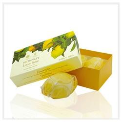 Bronnley 御香坊 檸檬柑橘系列-檸檬香皂禮盒 Lemon Soap