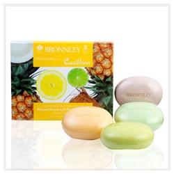 Bronnley 御香坊 熱帶水果系列-加勒比海熱帶水果四皂禮盒 Caribbean Soap