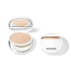 MAKE UP FOR EVER 粉餅-亮采防曬美白粉餅SPF25‧PA++ DUO WHITE Brightening Powder Foundation