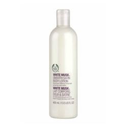 身體保養產品-白麝香絲柔身體潤膚乳 WHITE MUSK SMOOTH SATIN BODY LOTION