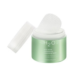 ~H2O+ 水貝爾 抗痘護理系列-抗痘潔淨棉 Anti-Acne Exfoliating Cleansing Pads