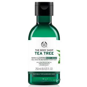 The Body Shop 美體小舖 天然茶樹淨膚完整系列-茶樹淨膚沐浴膠 Tea Tree Body Wash