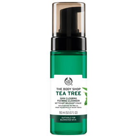 The Body Shop 美體小舖 洗顏-茶樹淨膚潔面慕絲 Tea Tree Skin Clearing Foaming Cleanser