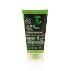 The Body Shop 美體小舖 乳液-茶樹保濕膠 Tea Tree Skin Clearing Lotion