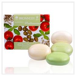 Bronnley 御香坊 地中海蔬果系列-地中海蔬果四皂禮盒 Mediterranean Soaps