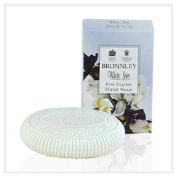 Bronnley 御香坊 鳶尾花香系列-鳶尾雕花皂 White Iris Fine English Hand Soap