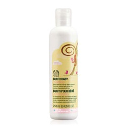 The Body Shop 美體小舖 寶寶身體保養-嬰兒布荔蒂乳香洗髮精