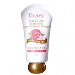 腿‧足保養產品-玫瑰Q10細白手足霜 Rose Co-Q10 Brightening Hand And Foot Therapy