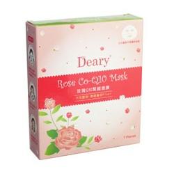 Deary 媞爾妮 面眼膜系列-玫瑰Q10緊緻面膜 Rose Co-Q10 Mask