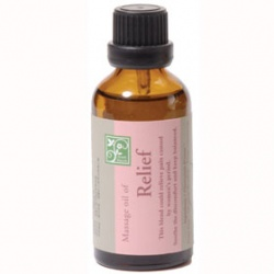 Justherb 香草集 芳療系列-生理舒緩按摩油 Massage oil of Relief