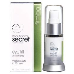 Beautician`s Secret 無齡肌密 臉部保養-泡泡眼立體緊緻眼霜