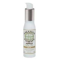 L'OCCITANE 歐舒丹 防曬‧隔離-清透煥膚凝露 SPF40 PA+++ Almond Apple Velvet Face Fluid SPF 40 PA+++
