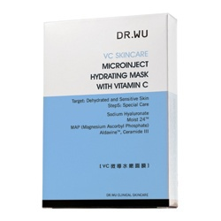 VC微導水嫩面膜 Microinject Hydrating Mask With Vitamin C