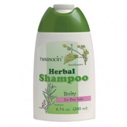 herbacin 德國小甘菊 洗髮-萊姆花迷迭香洗髮精(柔細髮質)