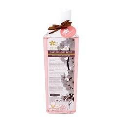櫻花玫瑰嫩白沐浴精