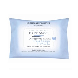 BYPHASSE 蓓昂斯 臉部去角質-三效柔膚巾 EXFOLIATING WIPES