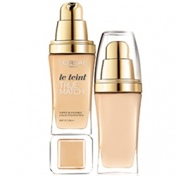 L`OREAL PARiS 巴黎萊雅 粉底液-完美吻膚保濕粉底液 SPF17 PA++ True Match Super-Blendable Liquid Foundation SPF 17 PA++