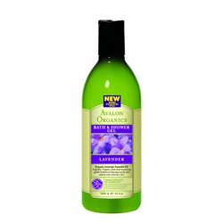 AVALON ORGANICS  沐浴清潔-薰衣草沐浴露 Organic Lavender Bath & Shower Gels