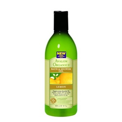 AVALON ORGANICS  沐浴清潔-檸檬沐浴露 Organic Lemon Bath & Shower Gels